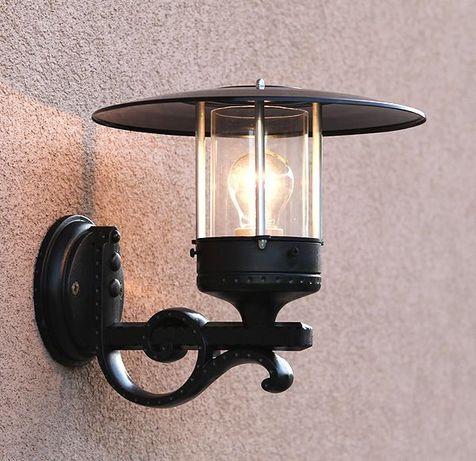 Kinkiet retro, lampa ogrodowa - producent