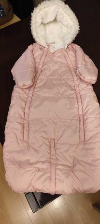 Wsuwa zimowa dla dziewczynki