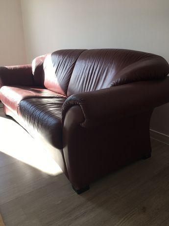 Sprzedam sofę skórzana naturalna - skóra prawdziwa