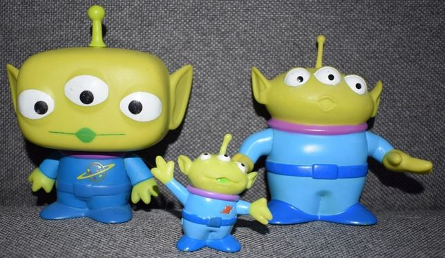 DISNEY Toy Story 3 ALIEN zestaw 3 figurek z USA