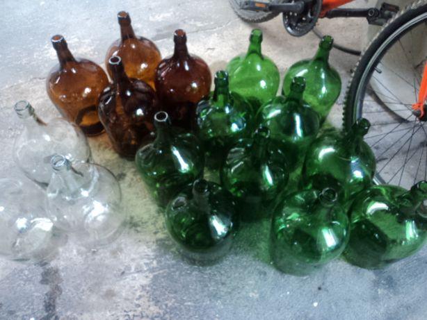 Garrafões em vidro-5 litros