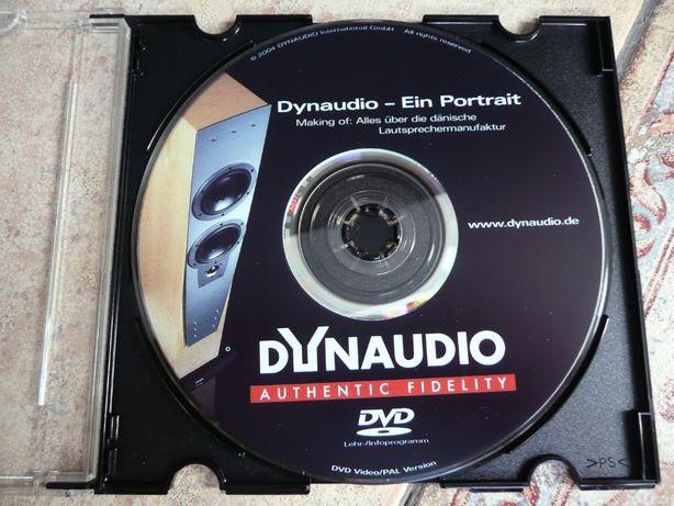 DVD DYNAUDIO EIN portrait płyta testowa demonstracyjna