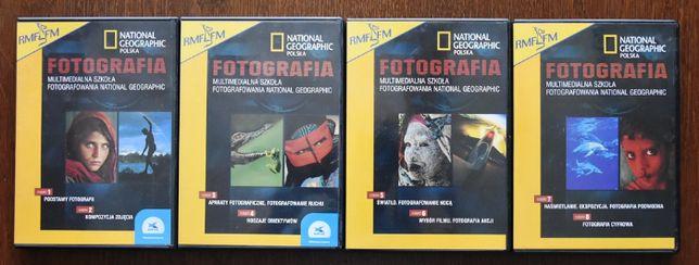 Fotografia - multimedialna szkoła Nationale Geographic - 4xCD