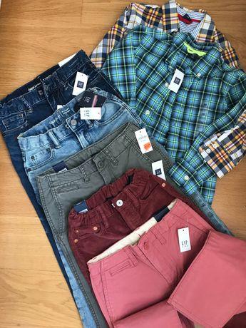 Джинси та сорочки Gap нові 5-7 років
