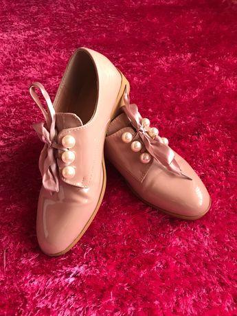 Sapatos rosa T: 38 em bom estado