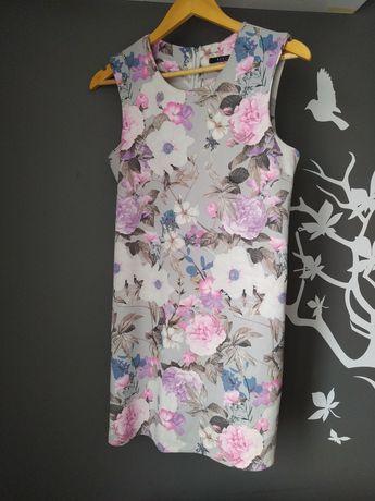 Sukienka mohito 38 M kwiaty