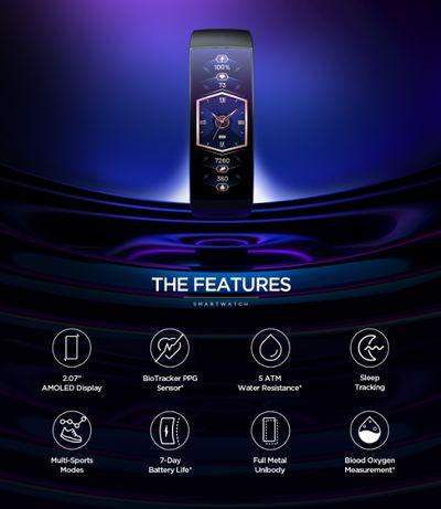 Умные часы Xiaomi Amazfit X