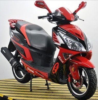 СкутерОК FADA Evolution 150cc SwiftRed сигнализация + пультстартер!