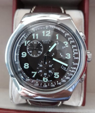 Relógio Swatch Irony Cronógrafo 'Your Turn'