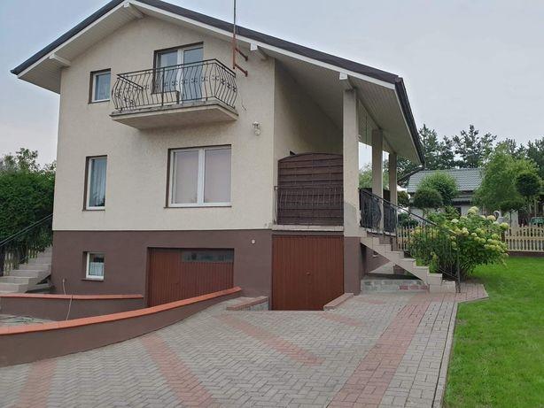 Sprzedam dom jednorodzinny, piętrowy nad jeziorem (Giewartów).