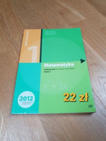 Matematyka 1 OE zakres podstawowy