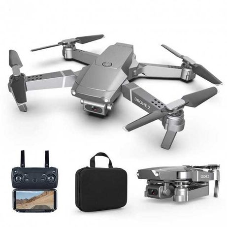 Квадрокоптер E68 c WiFi камерой DRONE2 складывающийся корпус +кейс