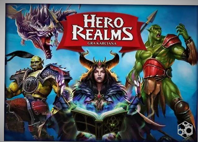 NOWA gra Hero Realms karciana wersja POLSKA