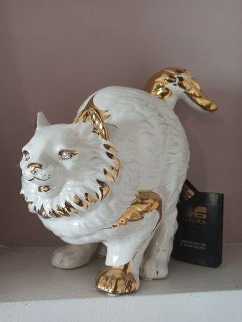 Фарфорова статуетка Кіт. Ahura.