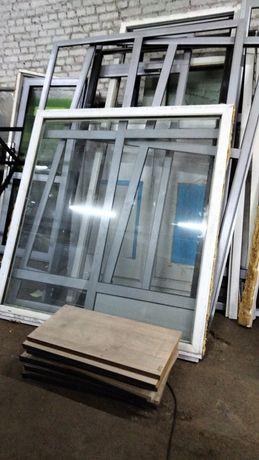 Вікна пластикові, металопластикові бу