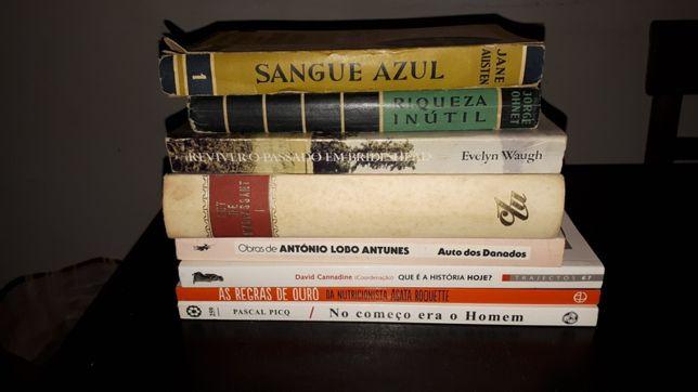 Livros diversos antigos