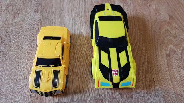 2 figurki Transformers Bumblebee - zmienialne