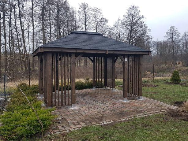 Altana ogrodowa NOEMI 3 x 3 m altanka wiata domek altanki