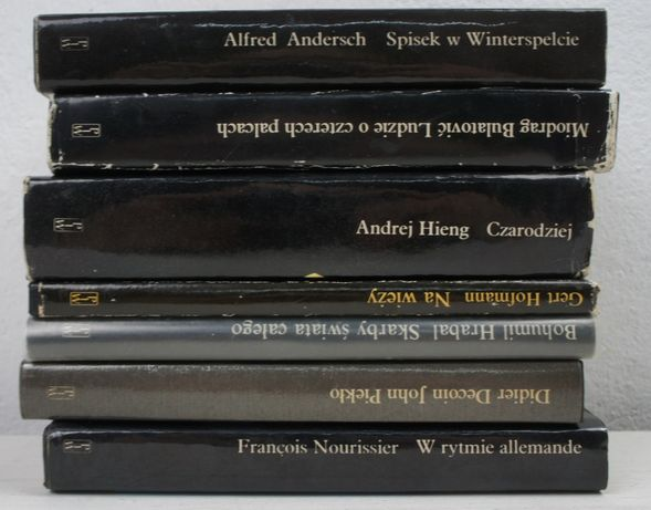 Literatura współczesna x 7 książek