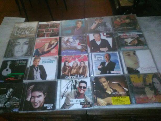 Conjunto de 21 CD's de Música Portuguesa