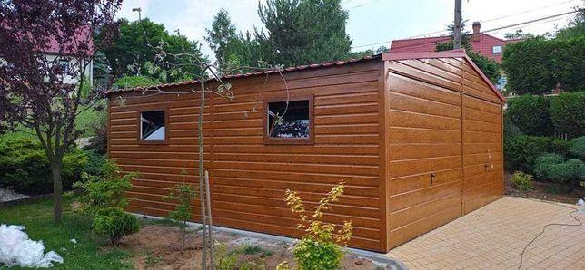 garaże blaszane 3x5 6x5 6x6 PRODUCENT