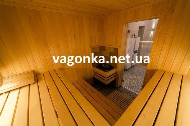 Вагонка Липа Лежак полок для бани сауны