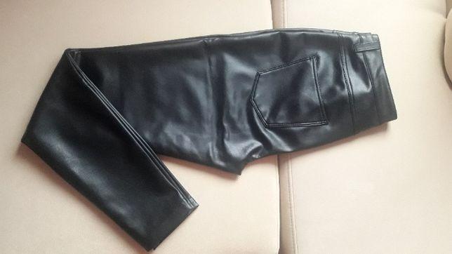 skórzane spodnie ONLY