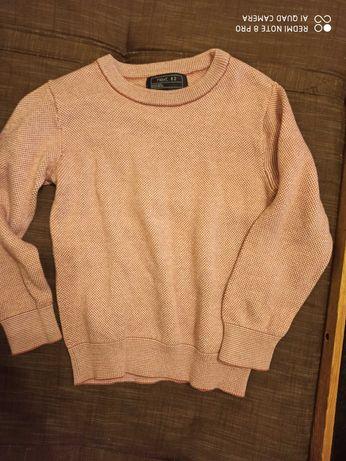 Sweter 104 next lilowy/wrzosowy