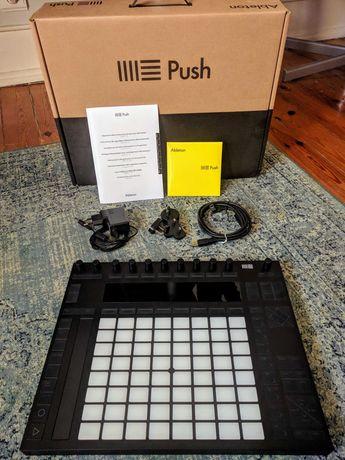 Ableton Push 2, em caixa original e com todos o acessórios. Como novo.