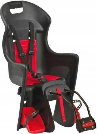 Nowy fotelik na rower Boodie max. 22 kg Polisport,mocowany do ramy