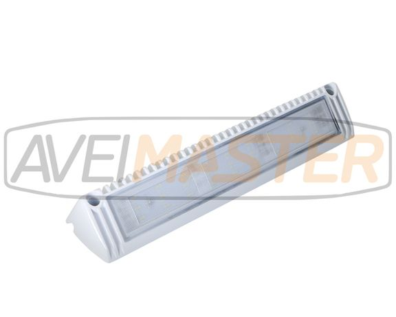 Barra Iluminacao Aluminio Lateral Angular Branca 27W 2250LM 043016