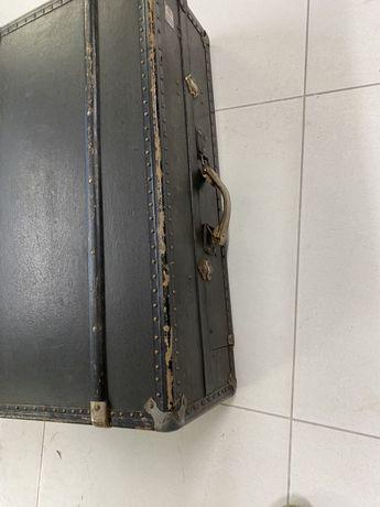 Walizka, garderoba podróżna Madler Koffer kufer przedwojenny RARYTAS