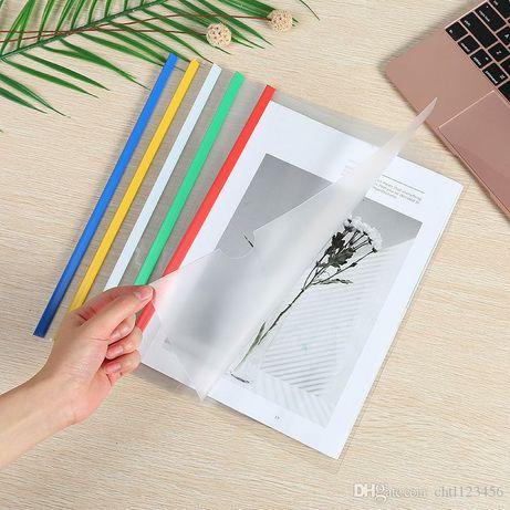 Продам офисную бумагу А4 для принтера + папки с файлами и без