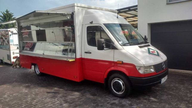 Mercedes Sprinter  Autosklep  Food truck  wędliny  ryby * wł.zasilanie