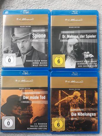 Fritz Lang 4 nieme filmy F.W.Murnau BD