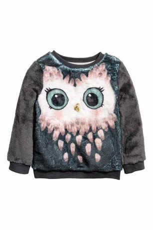 Тёплый плюшевый свитер H&M