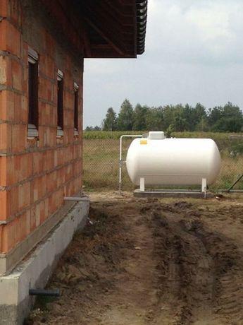 Zbiornik na gaz płynny 2700 litrów, gazowy LPG grzewczy instalacja