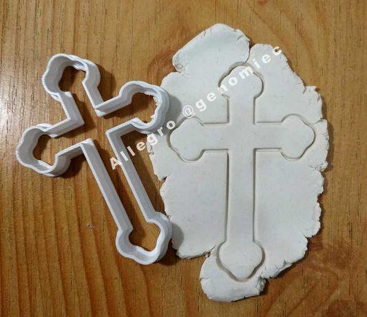 Foremka wykrawacz do ciastek Krzyż KOMUNIA ŚWIĘTA