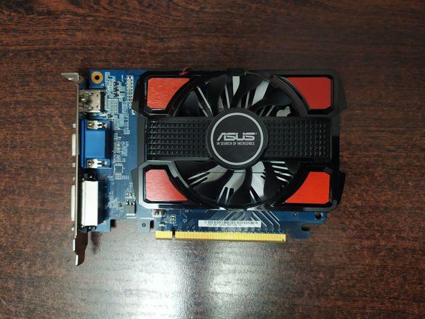 Видеокарта ASUS GT 730, 2GB, GDDR3, 128 BIT, НОВАЯ!