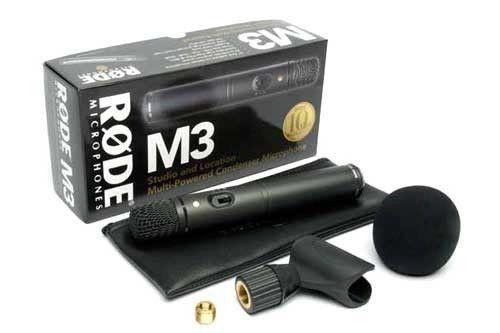 RODE M3 mikrofon do wszechstronnych zastosowań SKLEP KRAKÓW