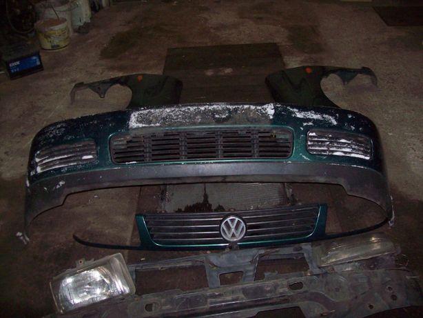 VW Polo 6N Caddy Zderzak Błotnik Komplet