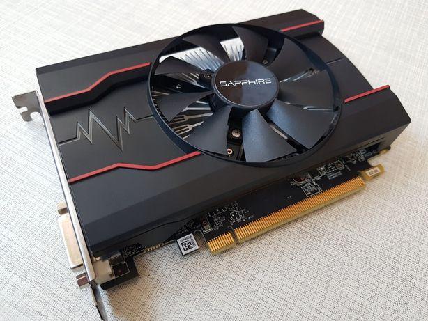 Видеокарта Radeon Sapphire RX 550 Pulse OC 128Bit!
