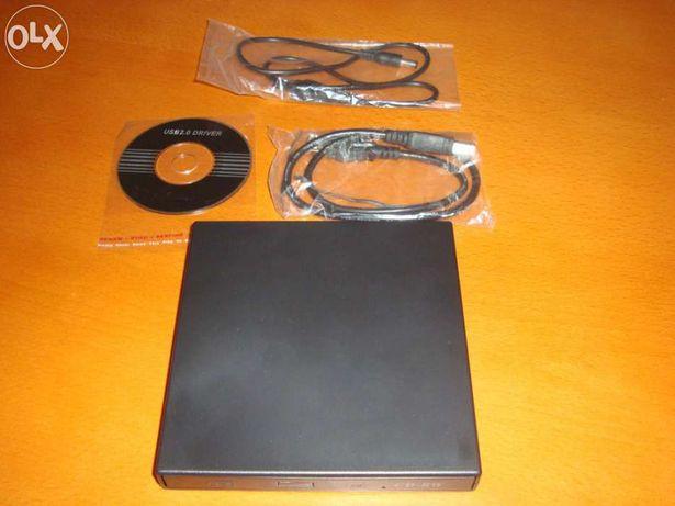Leitor/gravador externo CD RW