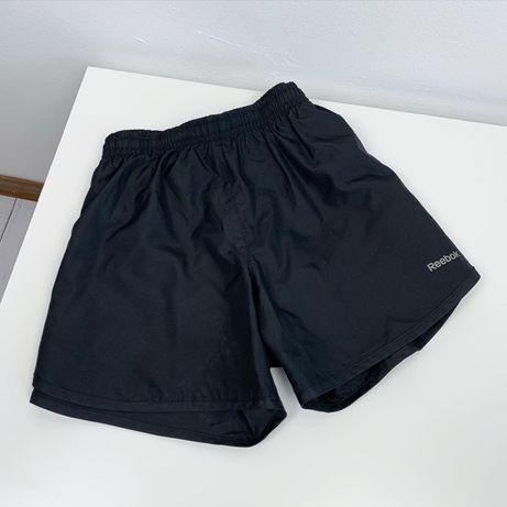 Шорты спортивные Reebok 2в1 original XS женские беговые легкие
