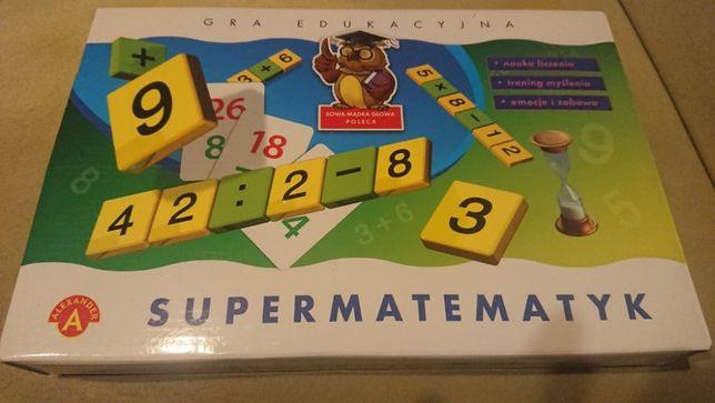 gra edukacyjna Supermatematyk marki Aleksander