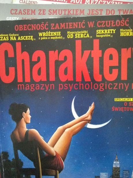 """Archiwalne nr czasopisma """"Charaktery"""" - 1-5, 9-12.2011"""