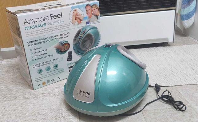 Massageador de pés: reflexologia podal, presoterapia e shiatshu