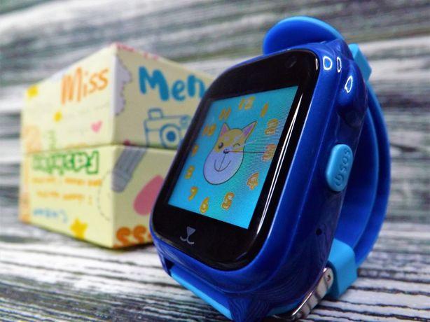 Детские умные смарт часы-телефон  Smart Baby Watch V77 GPS