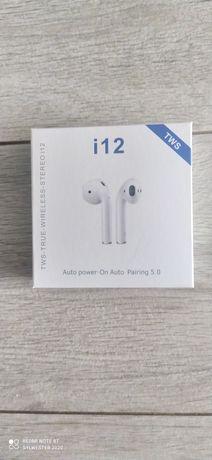 i12 TWS słuchawki