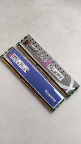 Оперативная память 8/4 Гб ddr3 1600/1333Mhz